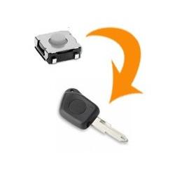 1 X Switch clé Peugeot 106