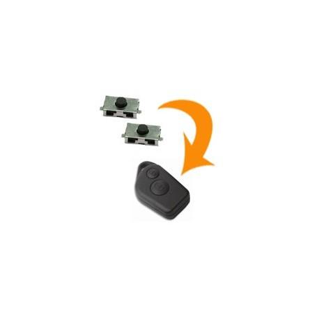 2 X Switch télécommande Peugeot 106