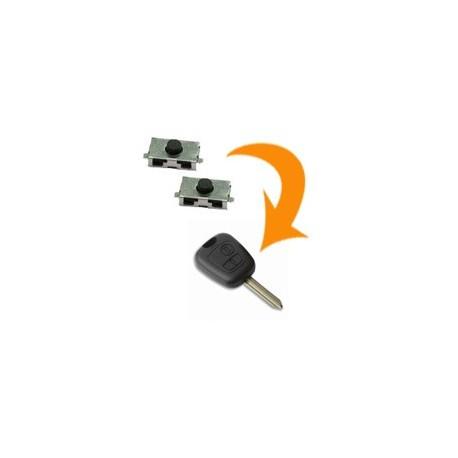 2 X Switch clé Citroën Saxo Xsara Picasso