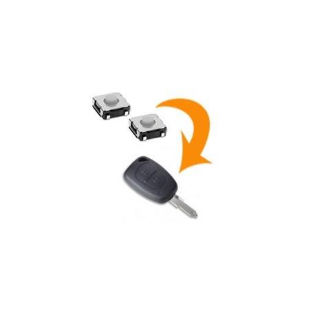 2 X Switch télécommande Renault Trafic Master Kangoo