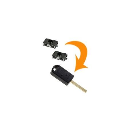 2 X Switch clé Opel