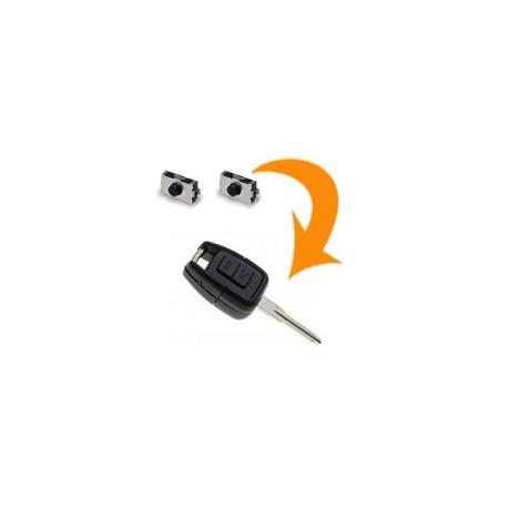 2 X Switch clé Opel Astra G, Zafira A, Vectra B, Omega B