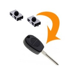 2 X Switch clé Nissan