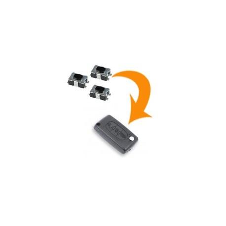 3 X Switch clé Peugeot Bipper