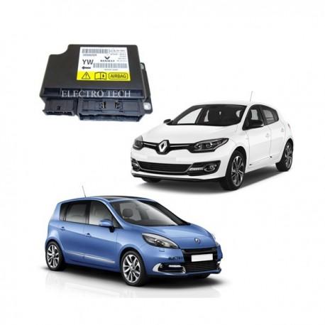 285587373R calculateur airbag Renault