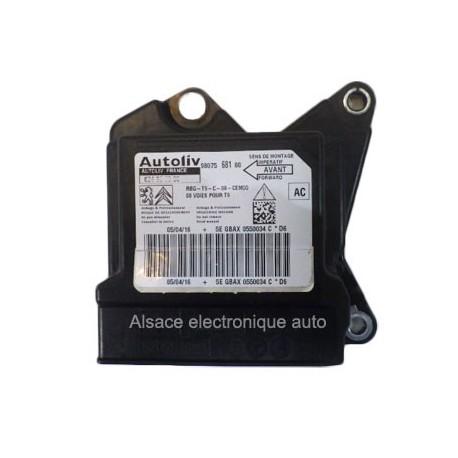 Réparation calculateur airbag 626181300 9803917380