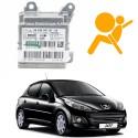 Réparation calculateur airbag Peugeot 207 9665699780-00, 0285010555
