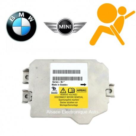 Réparation calculateur airbag MINI 65.77 3454345-01
