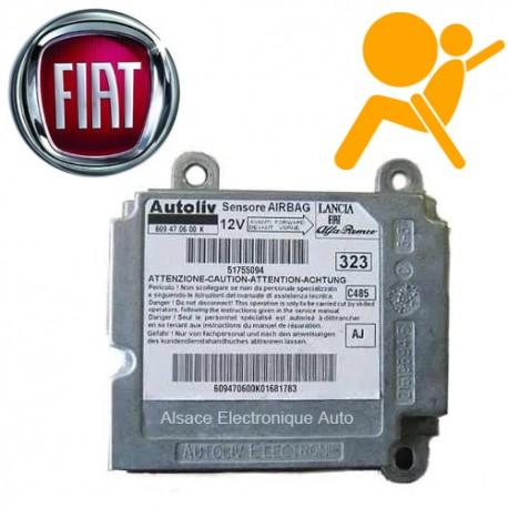 Réparation calculateur airbag Fiat 609470600F 609 47 06 00 F